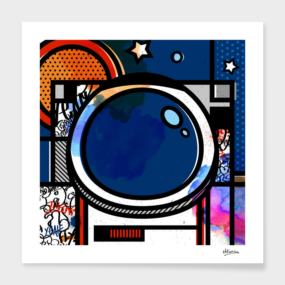 Orderly Vandalized: Astronaut