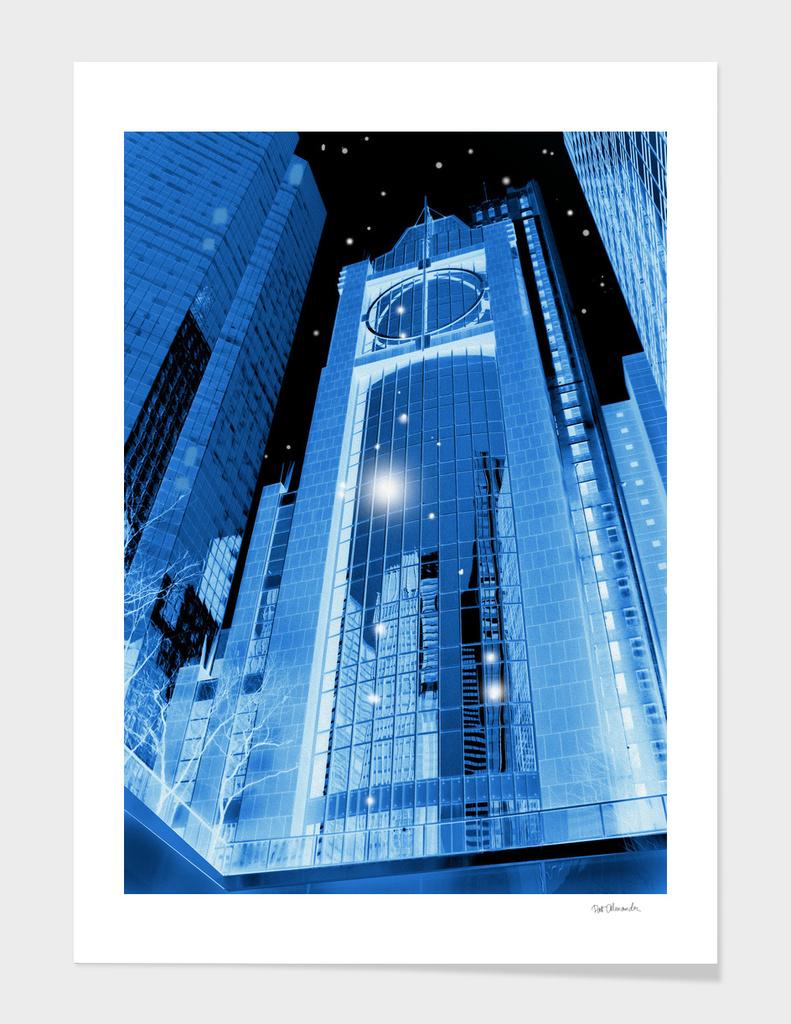 Cobalt Skyscrapers