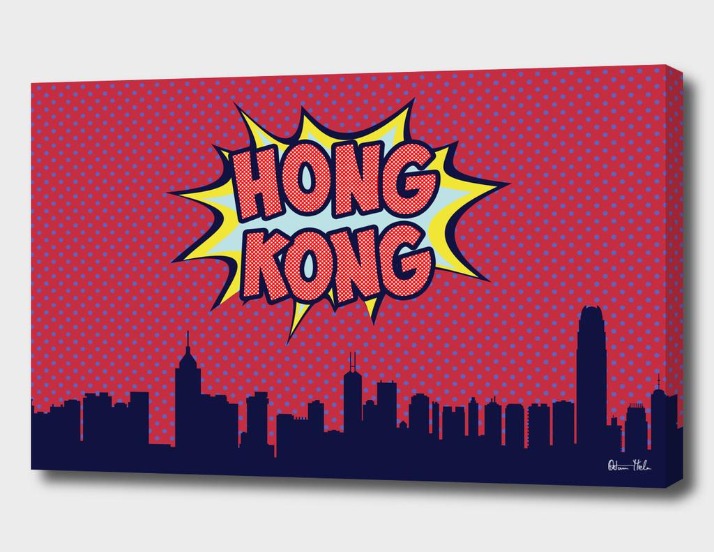 Hong Kong Pop skyline