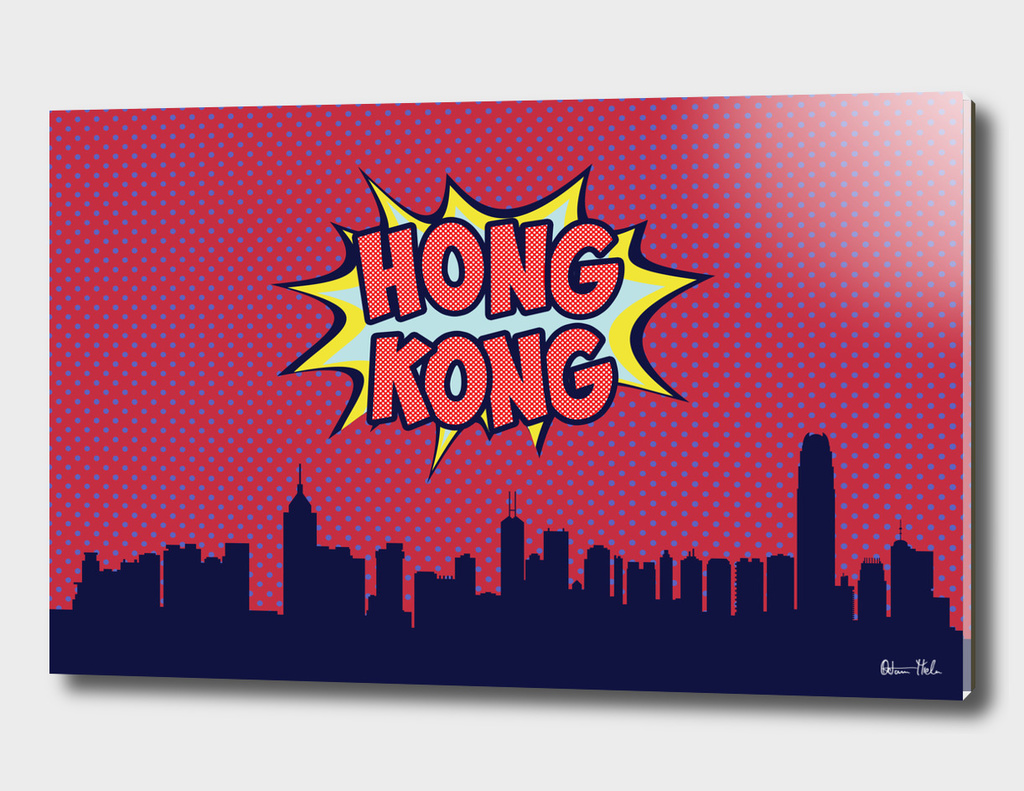 Hong Kong Pop skyline