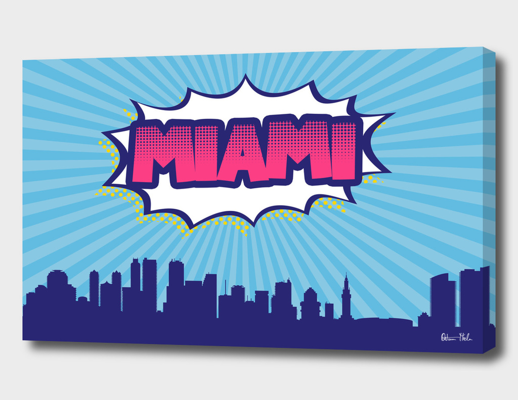 Miami Pop Skyline