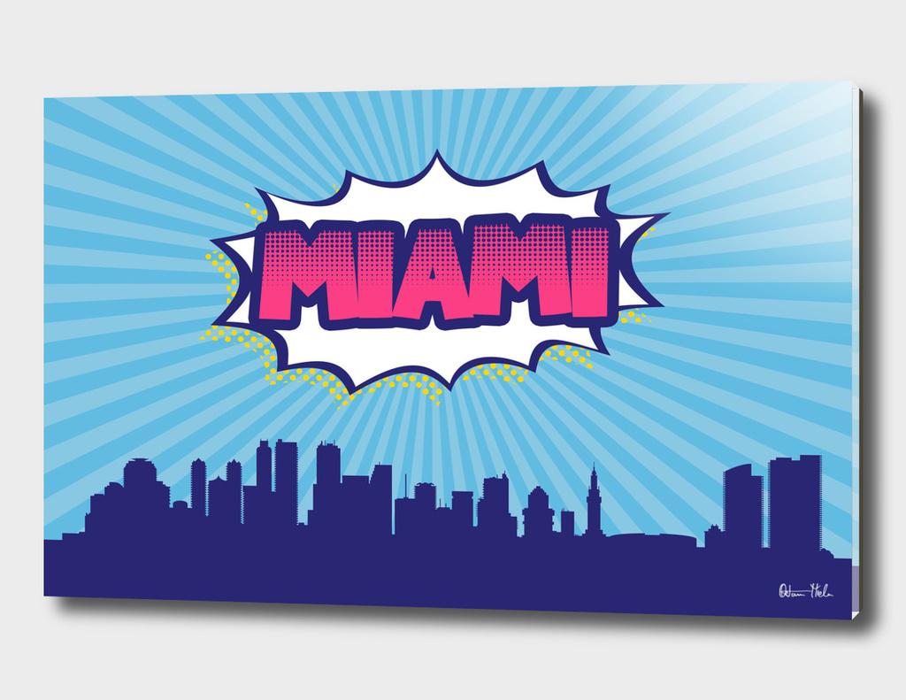 Miami Pop Skyline