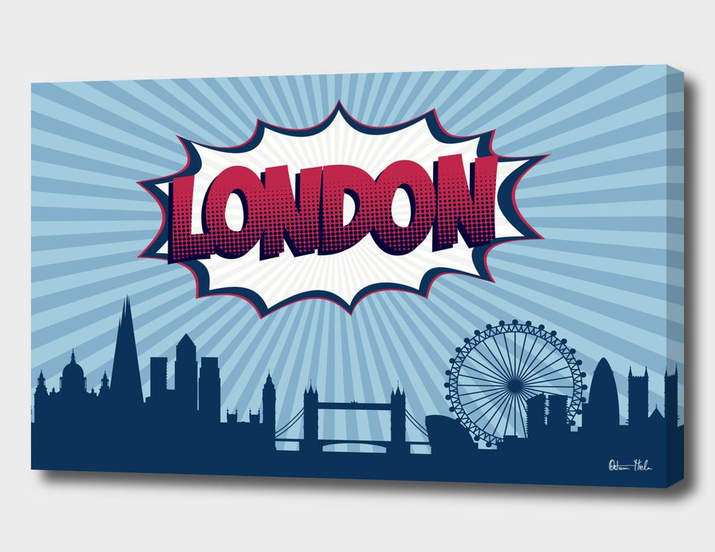 London Pop Skyline