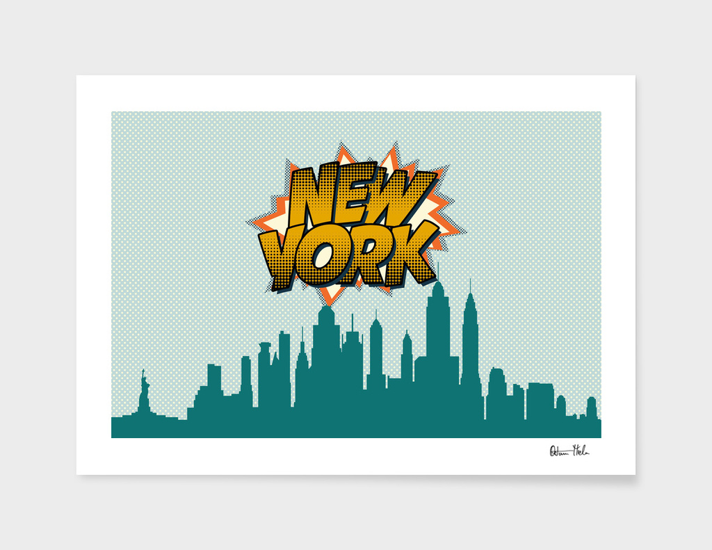 New York Pop Skyline