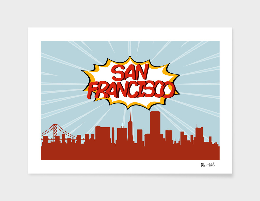 San Francisco Pop Skyline