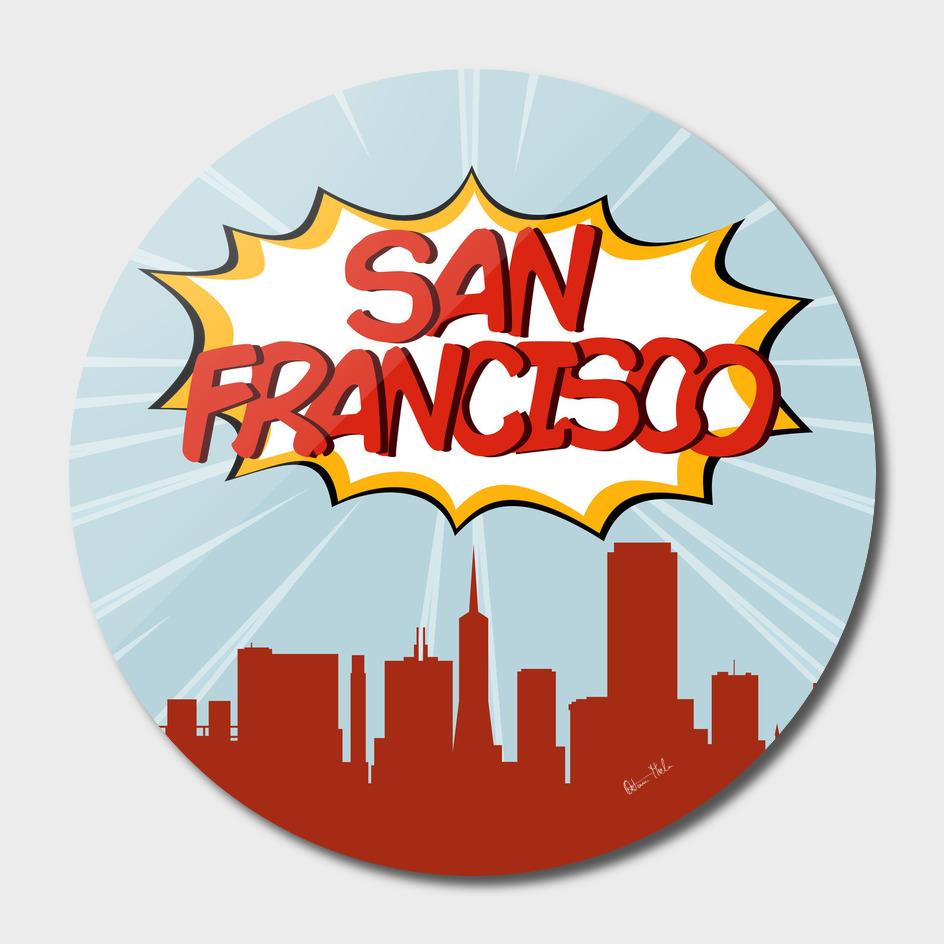 San Francisco Pop Skyline