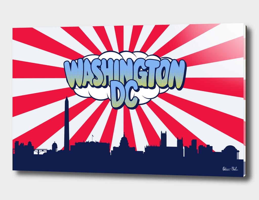 Washington Pop Skyline