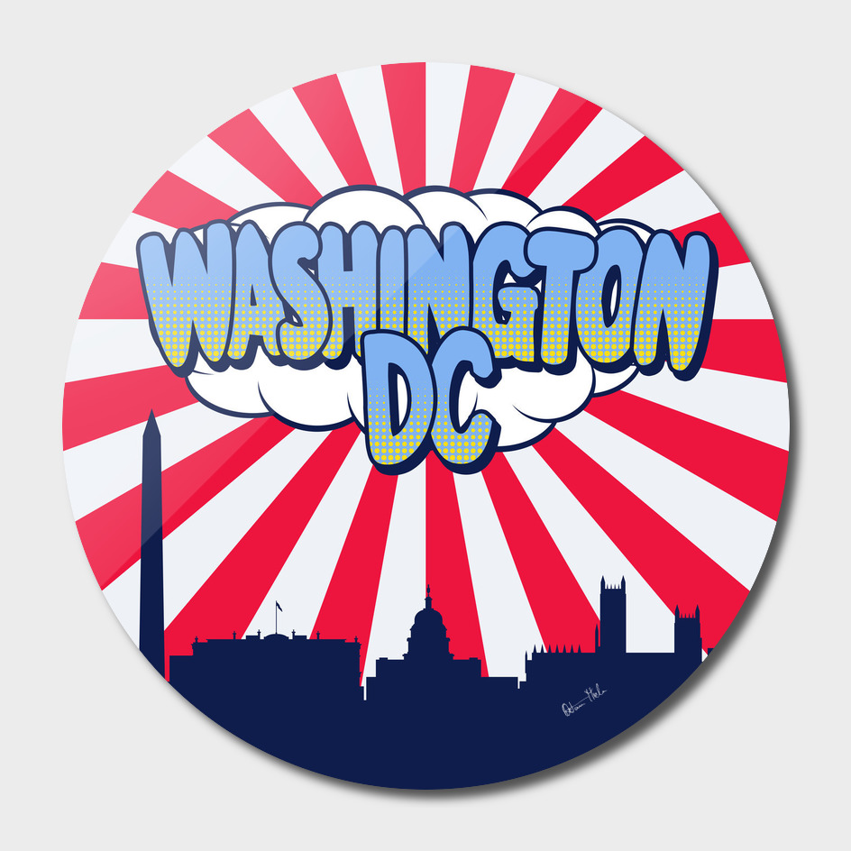 Washington Pop Skyline