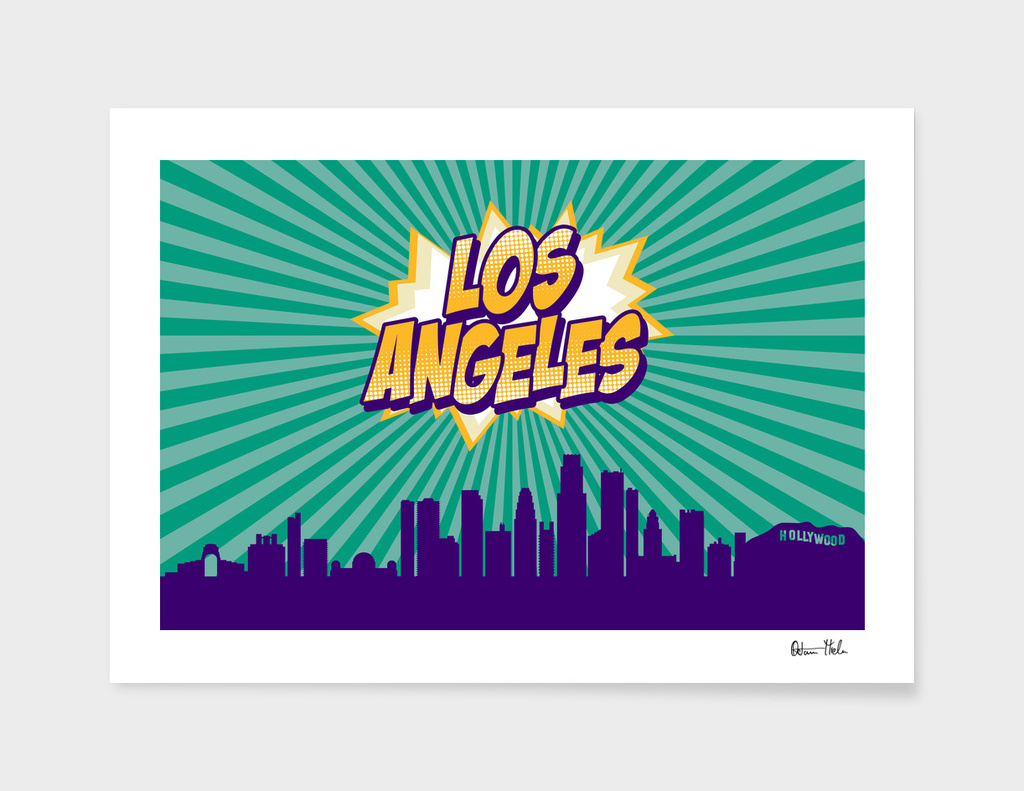 Los Angeles Pop Skyline