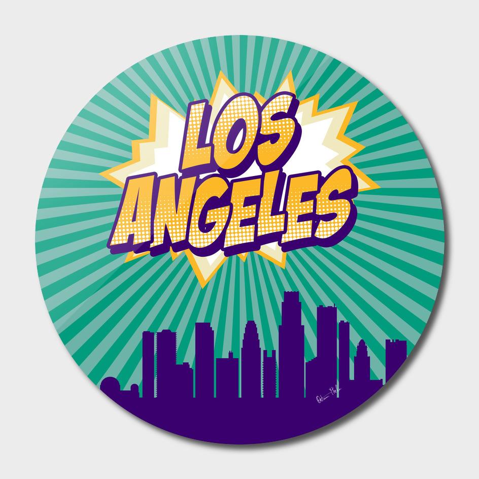 Los Angeles Pop Skyline