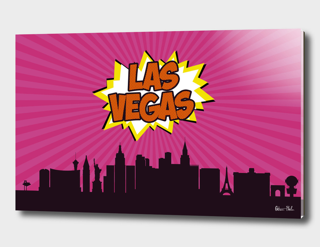 Las Vegas Pop Skyline