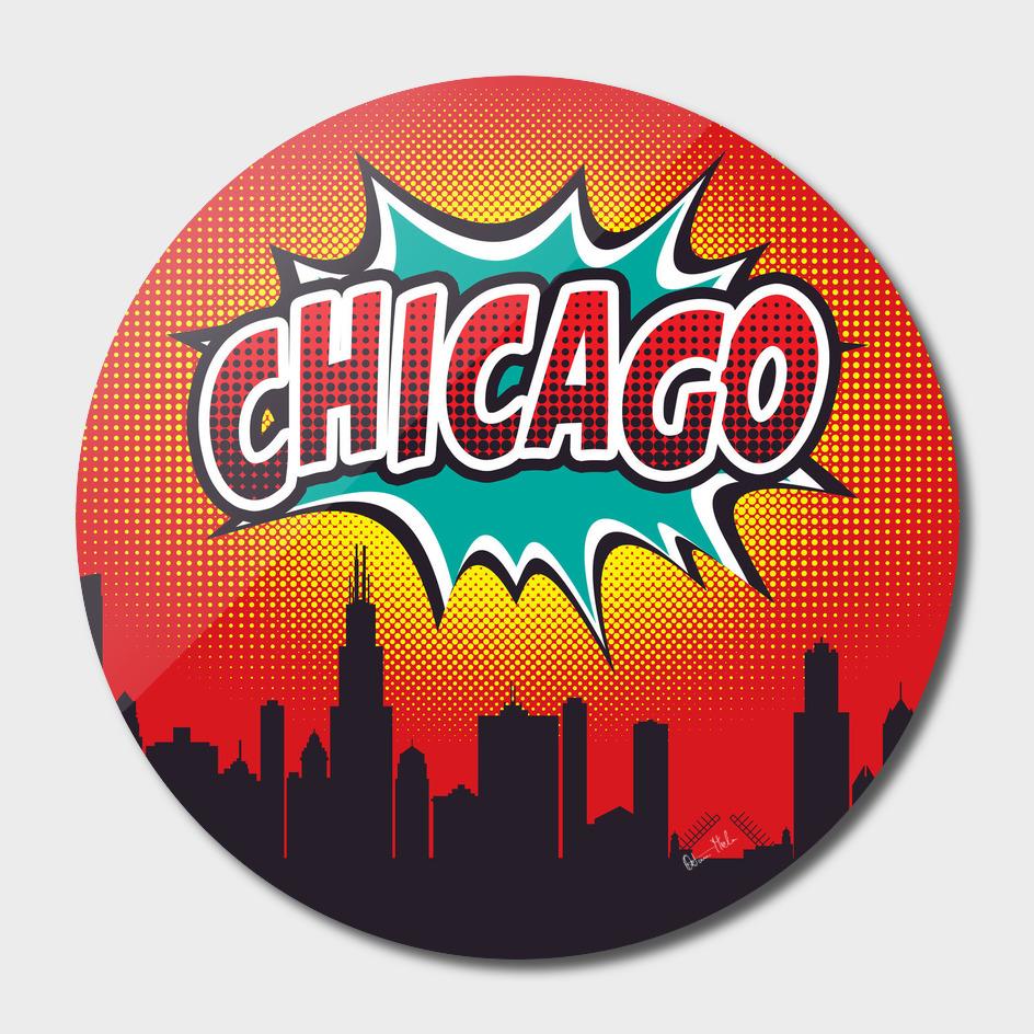 Chicago Pop Skyline