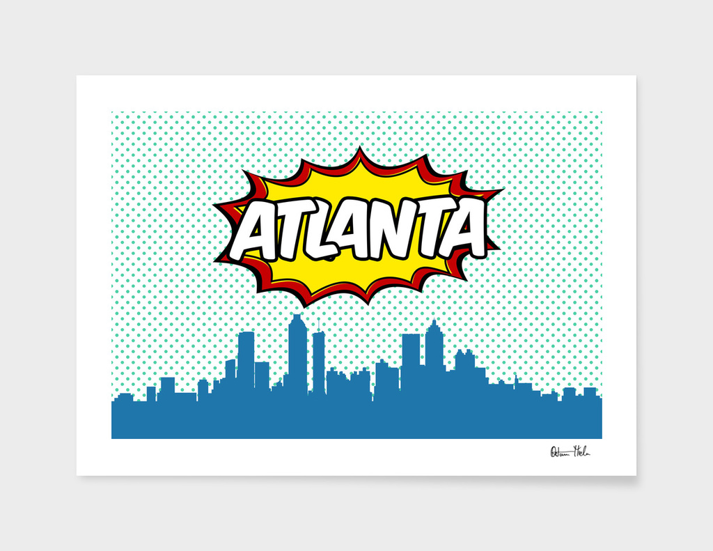 Atlanta Pop Skyline