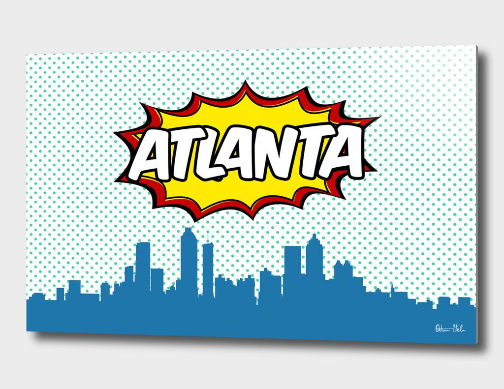Atlanta Pop Skyline
