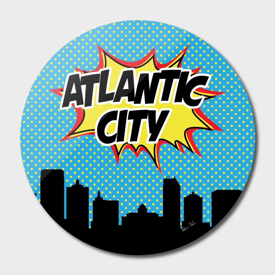 Atlantic City Pop Skyline