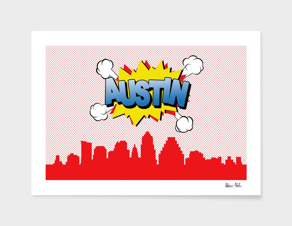 Austin Pop Skyline