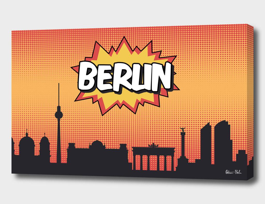 Berlin Pop Skyline