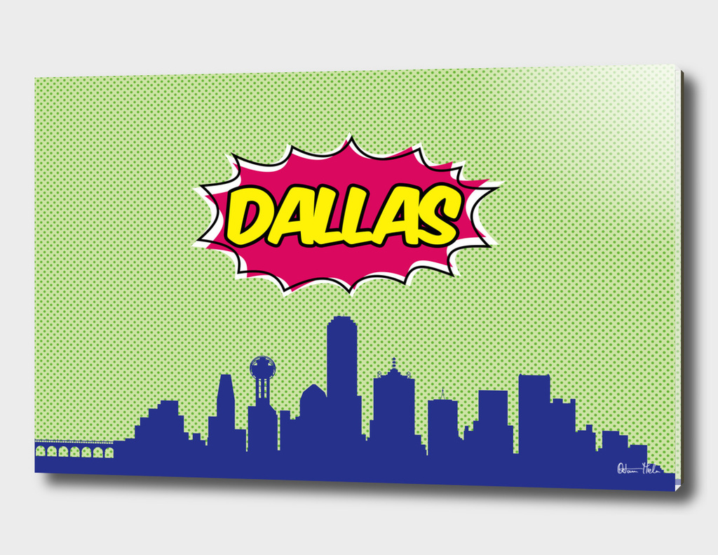 Dallas Pop Skyline