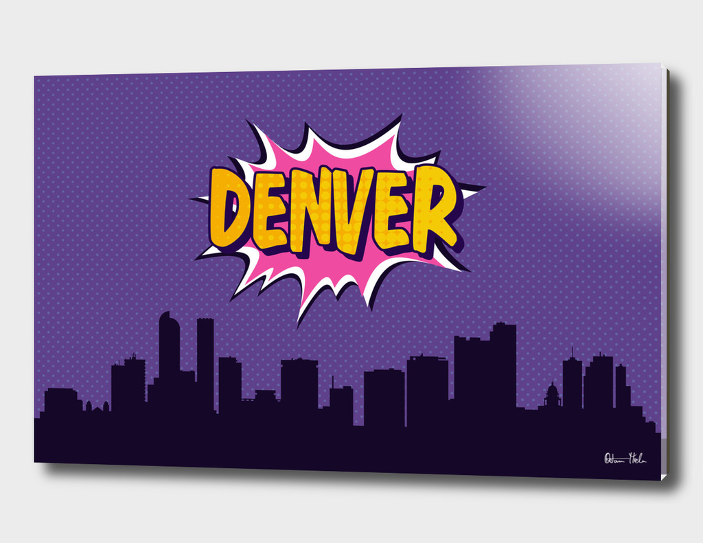 Denver Pop Skyline