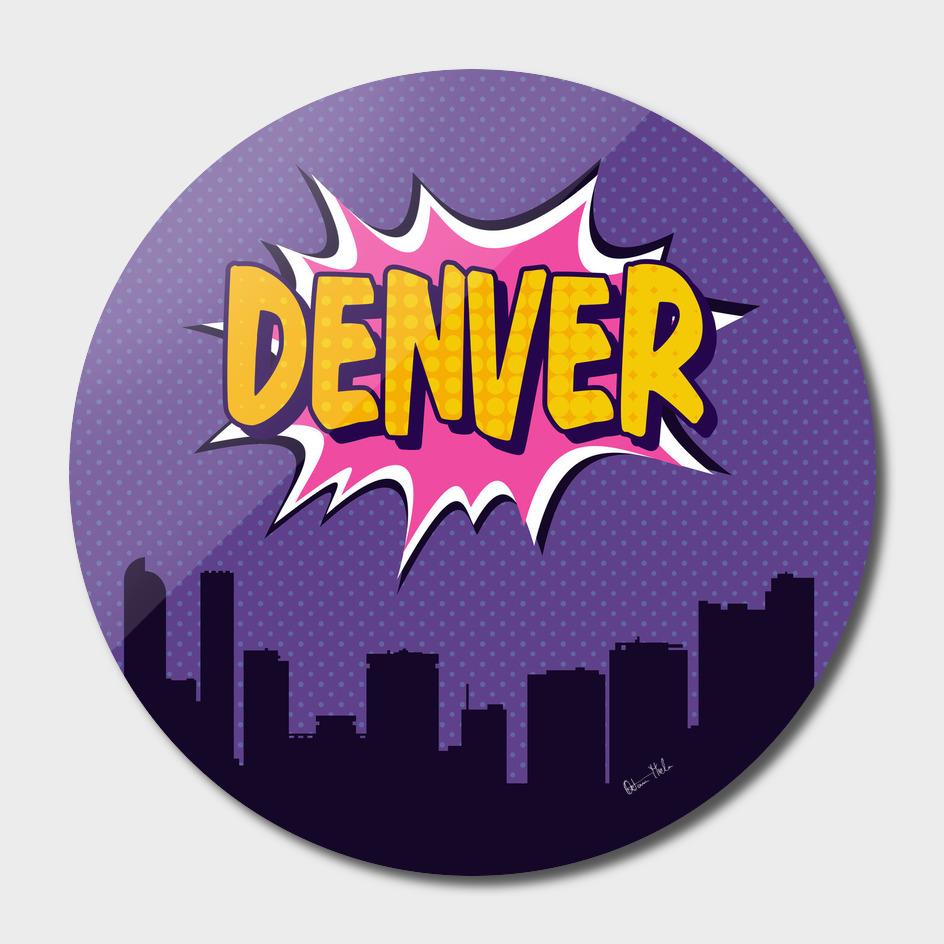 Denver Pop Skyline