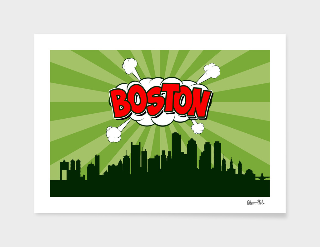 Boston Pop Skyline