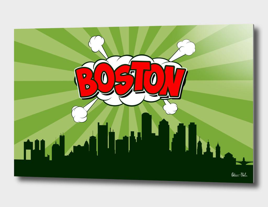 Boston Pop Skyline