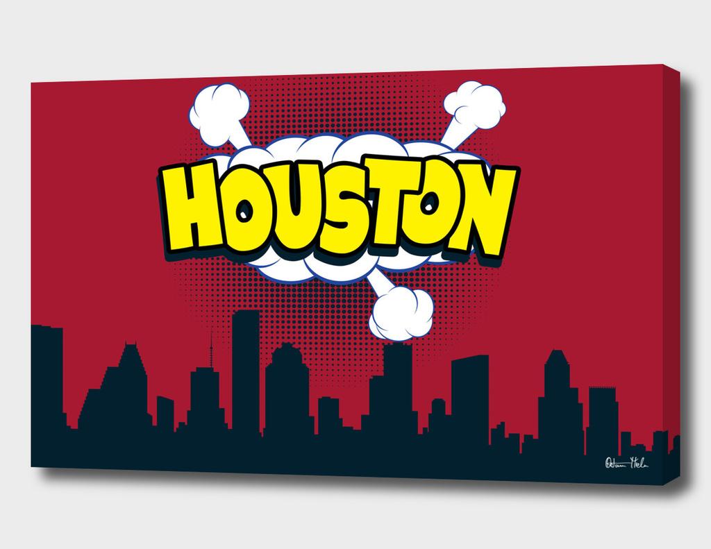 Houston Pop Skyline