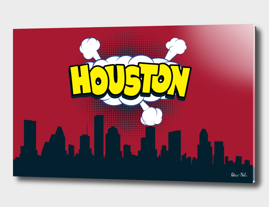 Houston Pop Skyline