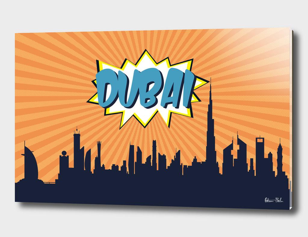 Dubai Pop Skyline