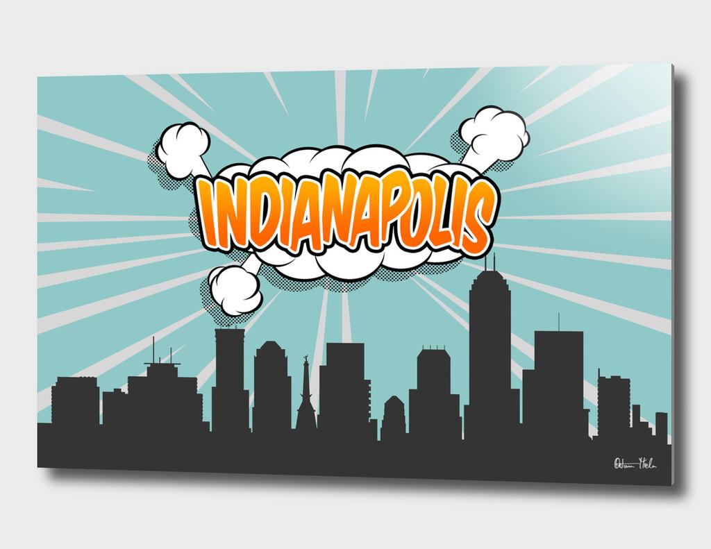 Indianapolis Pop Skyline