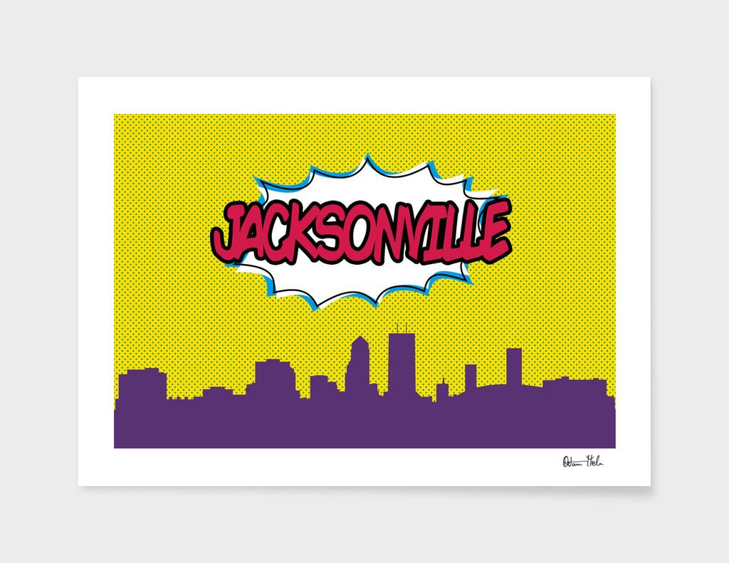 Jacksonville Pop Skyline