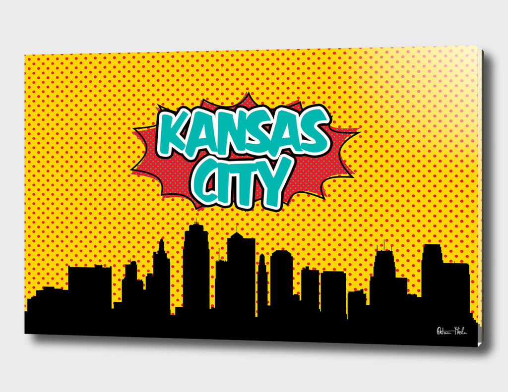 Kansas City Pop Skyline