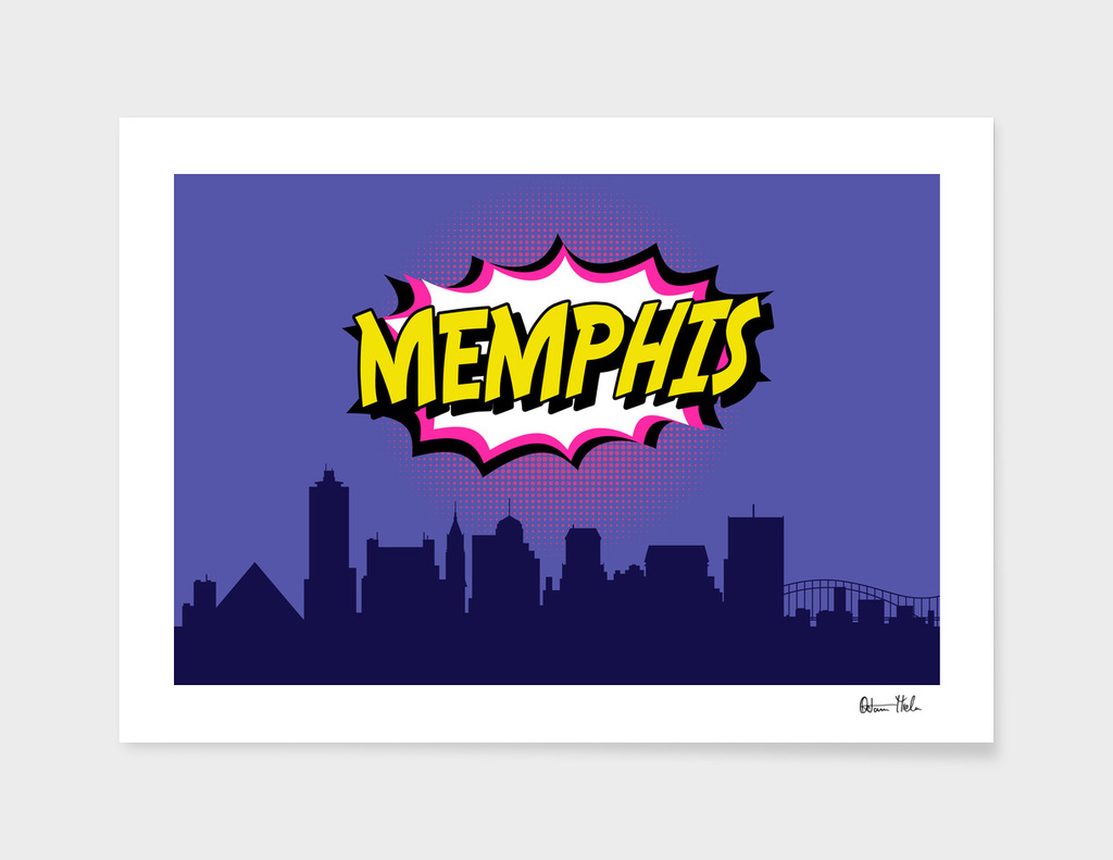 Memphis Pop Skyline