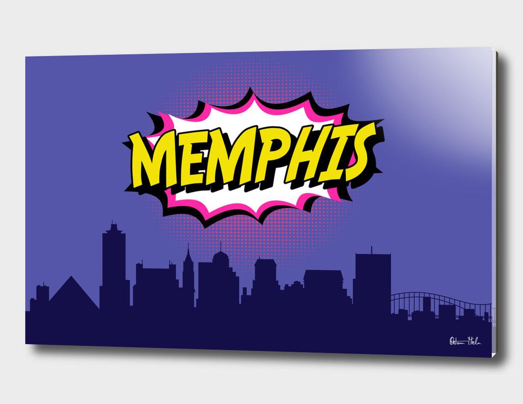 Memphis Pop Skyline