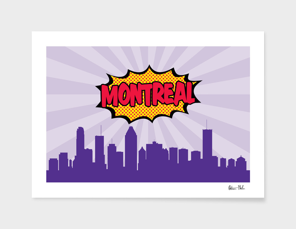 Montreal Pop Skyline