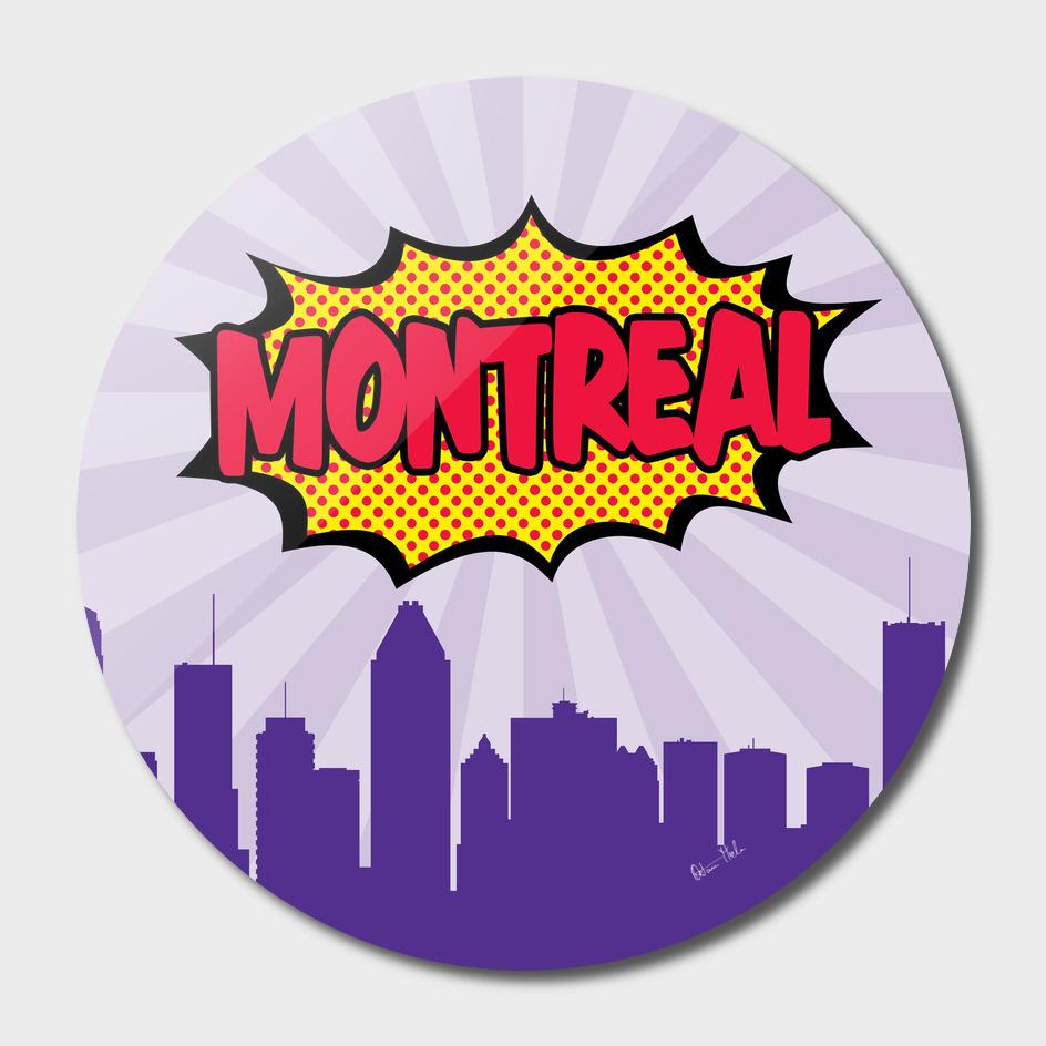 Montreal Pop Skyline
