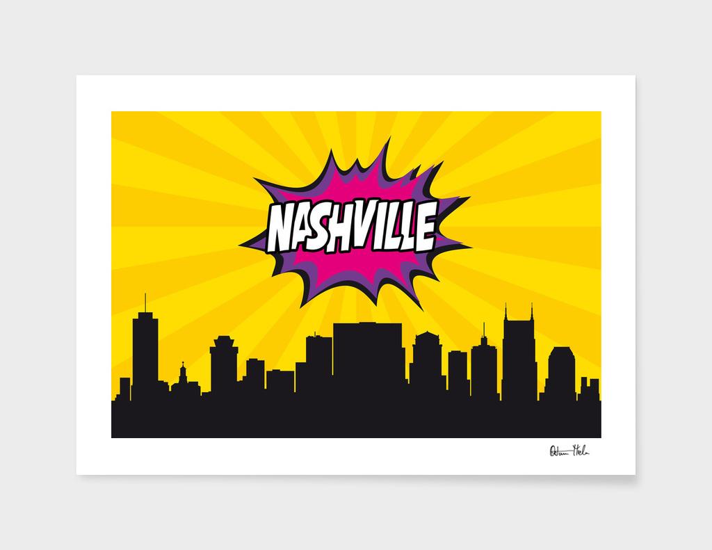 Nashville Pop Skyline