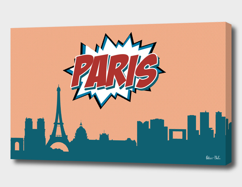 Paris Pop Skyline