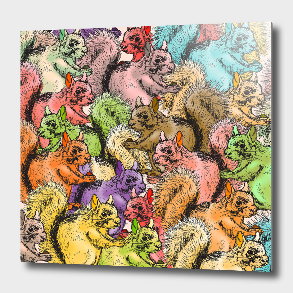 Squirrels Parade