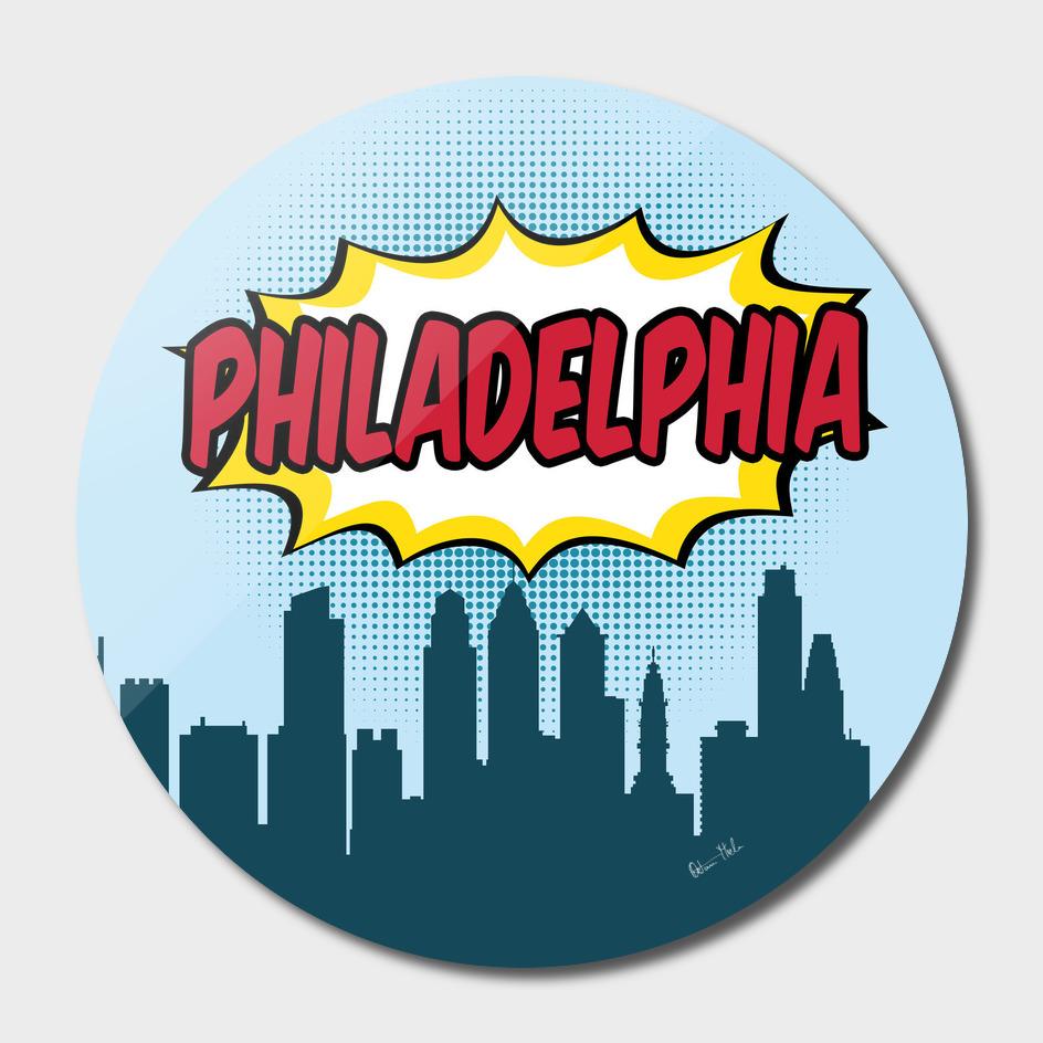 Philadelphia Pop Skyline