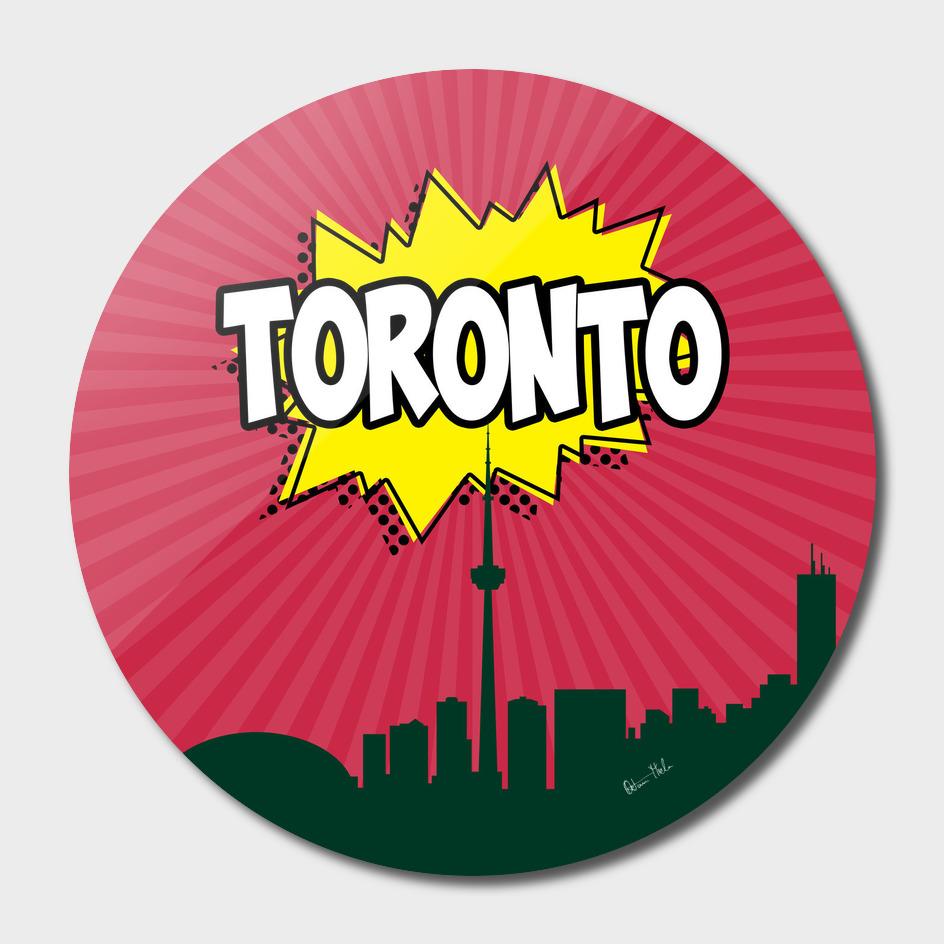 Toronto Pop Skyline