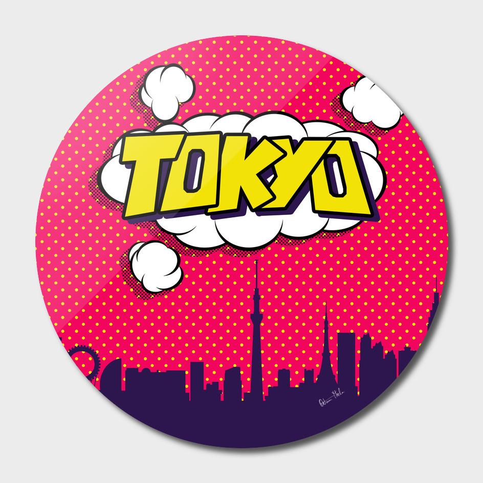 Tokyo Pop Skyline