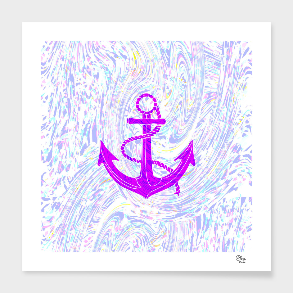 Purple Anchor