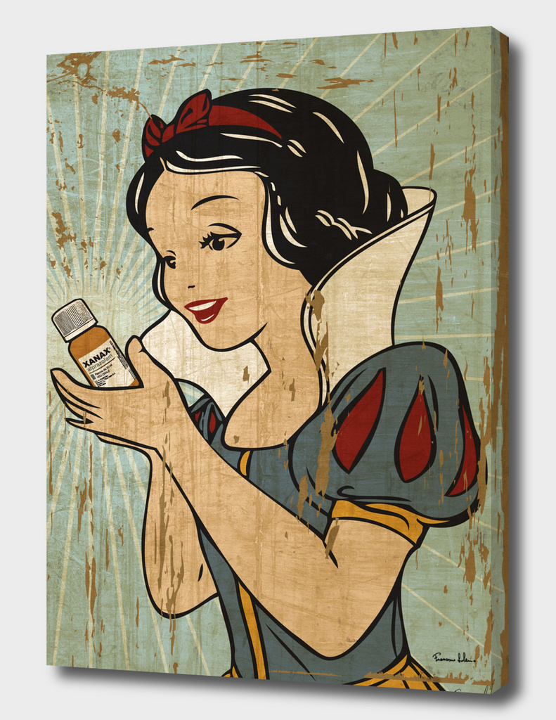 Snow White and her Xanax