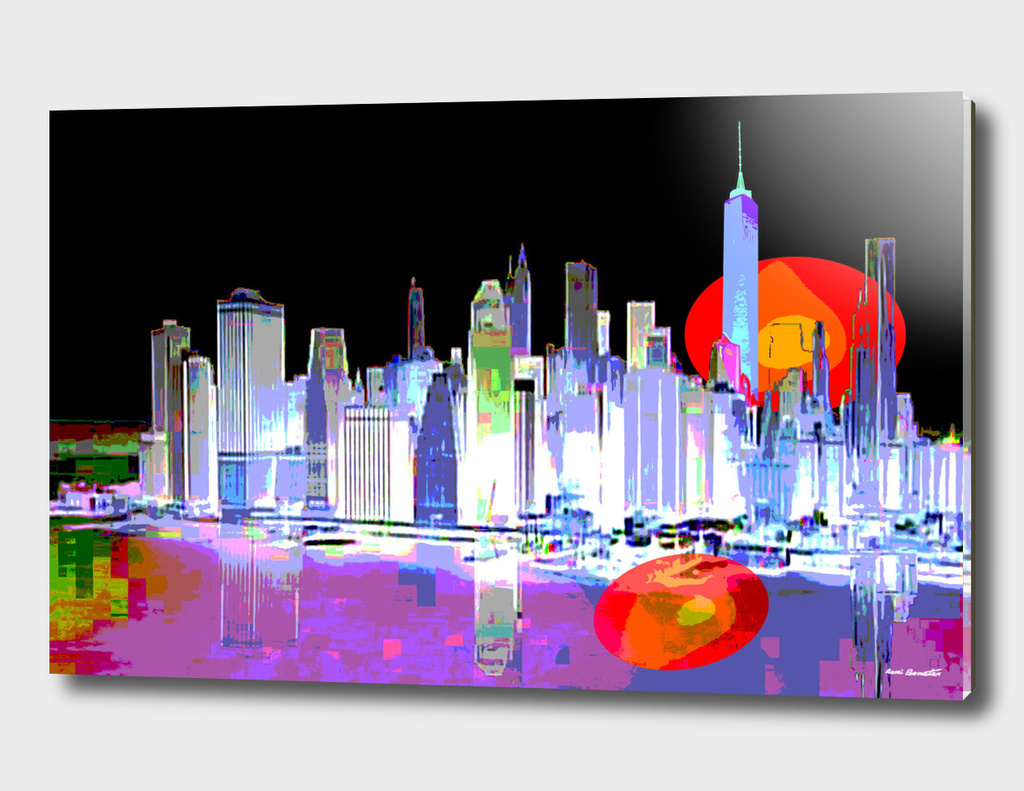 New York City Digital Illustration 2