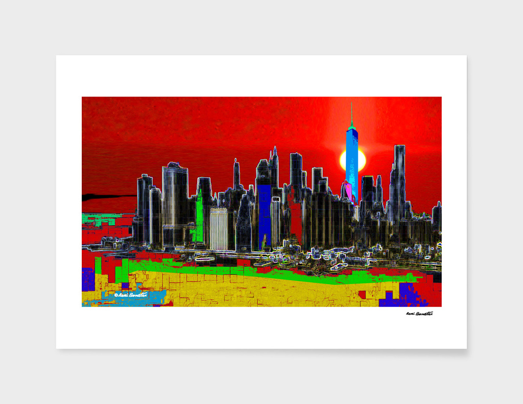 New York City Digital Illustration 1
