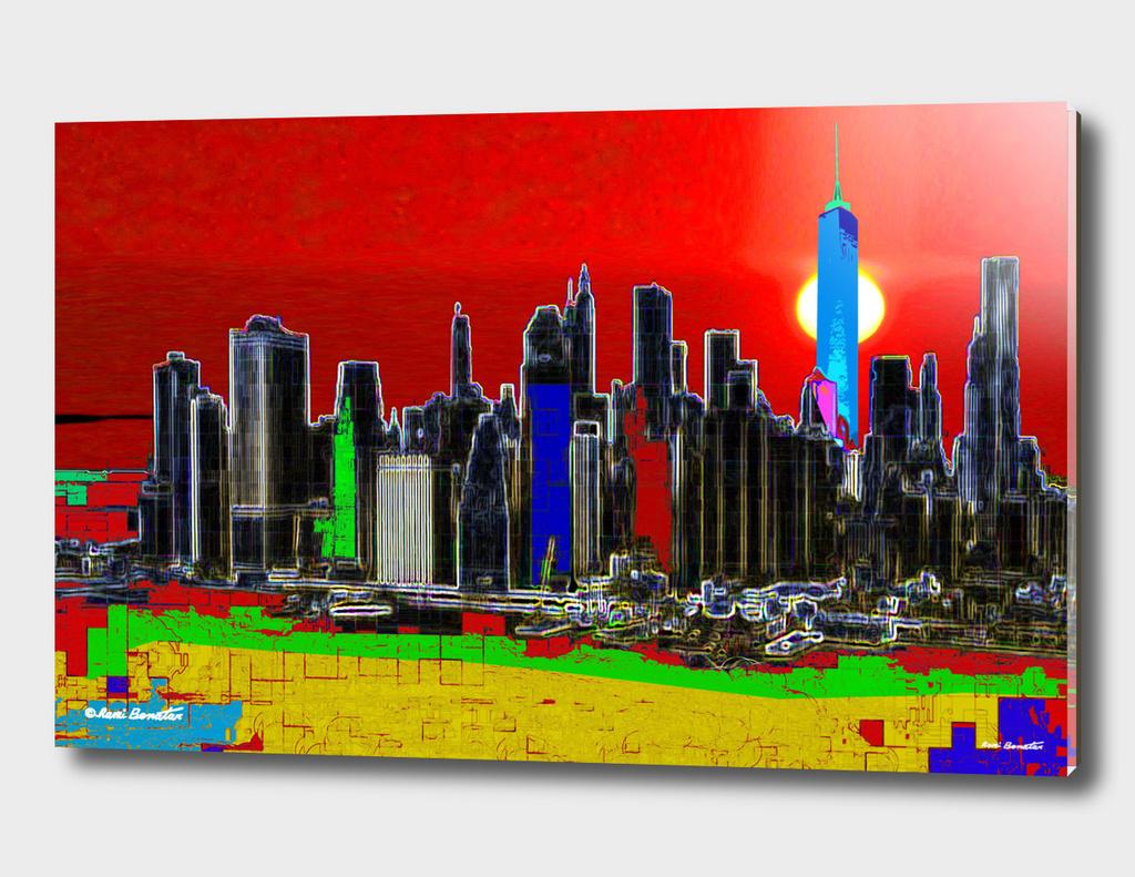 New York City Digital Illustration 1