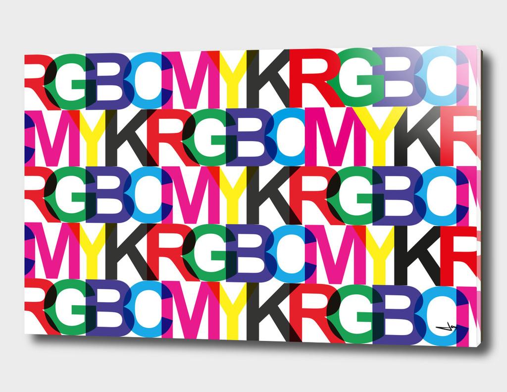 CMYK and RGB