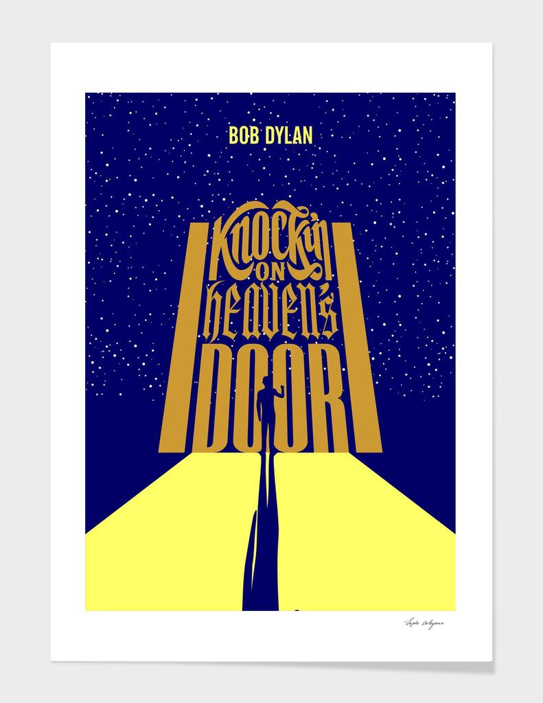 knockin on heavens door - bob dylan