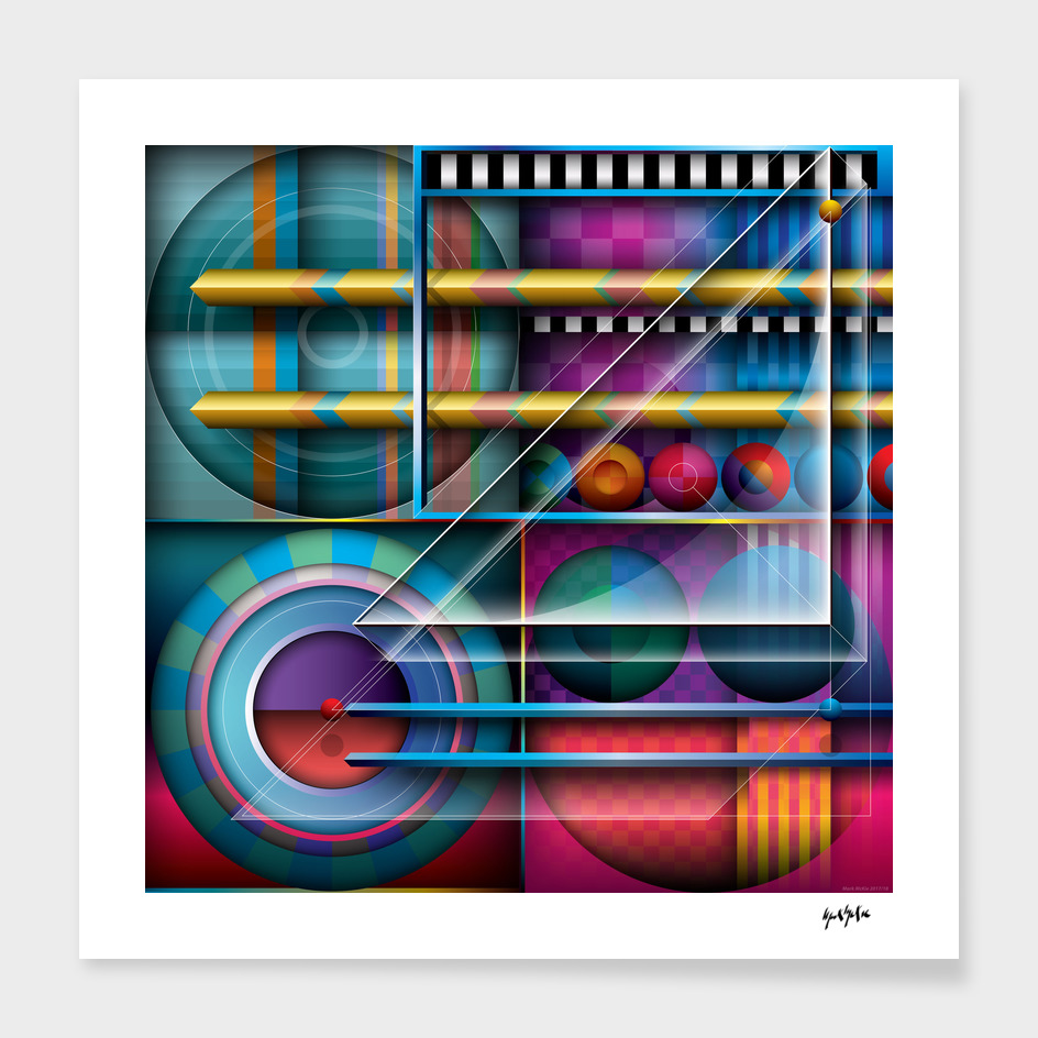J Series 114 Abstract Geometric Gesign
